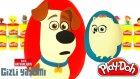 Evcil Hayvanların Gizli Yaşamı Sürpriz Yumurta Oyun Hamuru - Karlar Ülkesi Minyonlar Cicibiciler