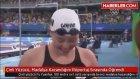 Çinli Yüzücü, Madalya Kazandığını Röportaj Sırasında Öğrendi