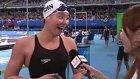 Çinli Yüzücü Madalya Kazandığını Röportaj Sırasında Öğrendi