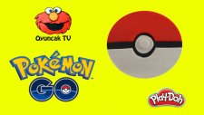 Pokemon Go Topu Play-Doh Oyun Hamuru ile Yapımı [Oyuncak TV]