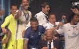 Real Madridli Futbolcuların Zinedine Zidane'in Basın Toplantısını Basması
