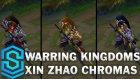 Warring Kingdoms Xin Zhao Chroma Skins - Lol Kostümleri
