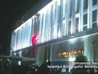 Darbe Girişimi Gecesi Şehzadebaşı Camii İmamının İstiklal Marşı'nı Okuması
