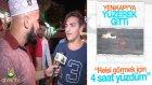 Yenikapı'ya Yuzerek Giden Genc Ahsen Tv'ye Konustu | Ahsen Tv
