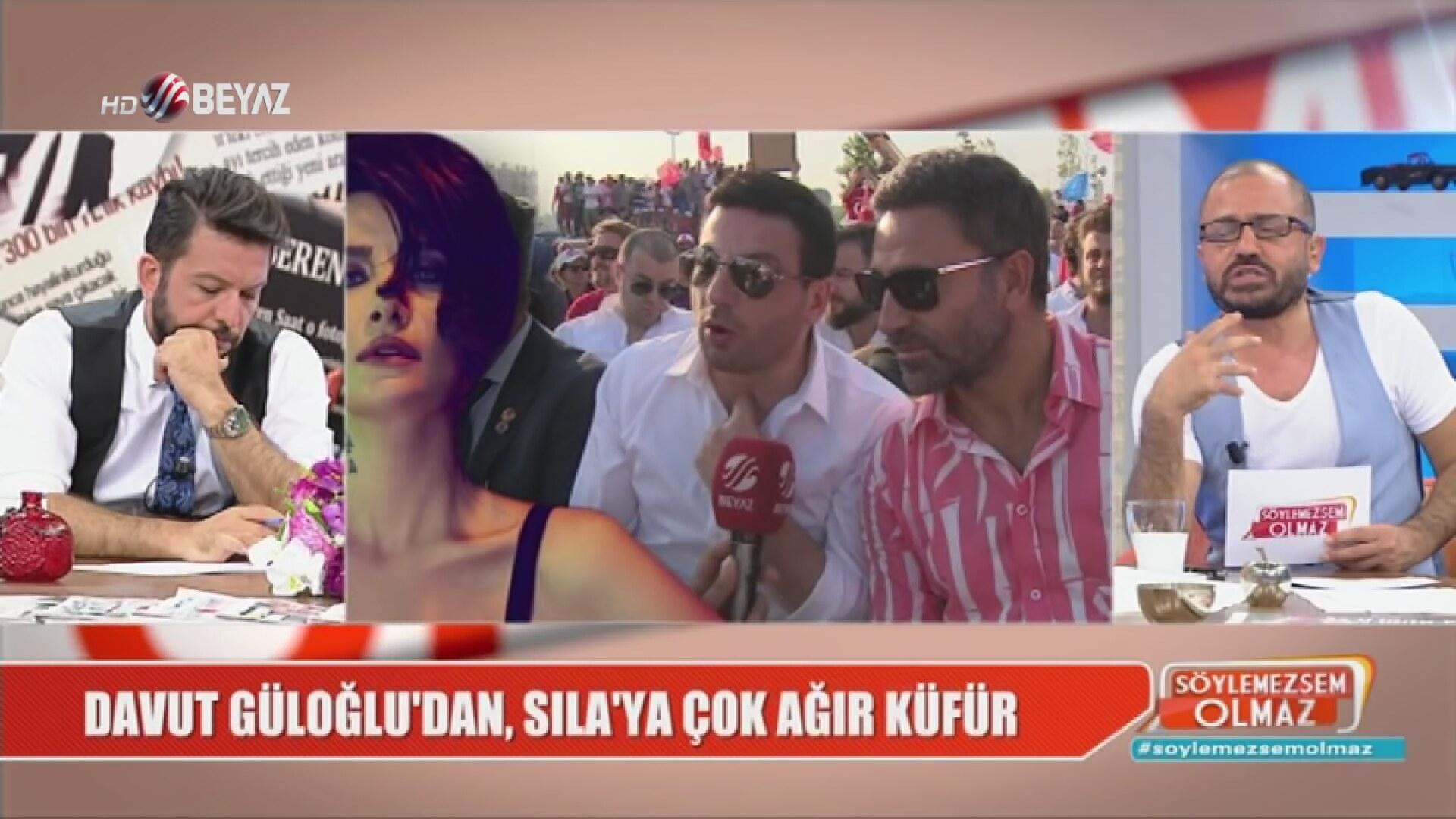 Davut Güloğlu'dan, Sıla'ya: S... olsun gitsin!