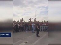 Galatasaray Taraftarlarının Özel Harekat Daire Başkanlığı Ziyaret Etmesi