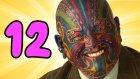 Yüzünü Dövme İle Kaplatan 12 İnsan - Yap Yap