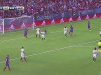 Arda Turan'ın Süper Kupa Maçında Asist Yapması
