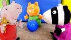 Eğitici video - Peppa pig oyuncakları - Kahvaltı her sabah yapmalıyız