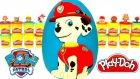 Paw Patrol Marshall Dev Sürpriz Yumurta Oyun Hamuru - Paw Patrol Oyuncakları Cicibiciler