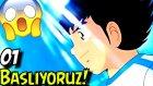 Çok Heyecanlandim | Captain Tsubasa | 1.Bölüm