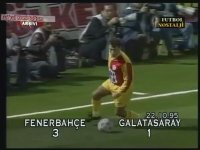Fenerbahçe 3 - 1 Galatasaray (22 Ekim 1995 - Atkinson Anısına)