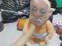Fetö Maskeli Bebeğe İşkence Eden Çocuk