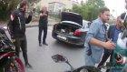 Motorculara Silah Çeken Polis