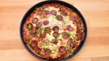 Dublex Pizza - Semen Öner - Yemek Tarifleri