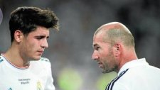 Morata'dan Zidane'a çelme