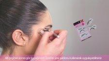 Eklips Eyeliner ve S?ablonu ile 1 Dakikada Kusursuz Go?z Makyajı