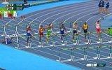 110 Metre Engelli Koşusunda İlk Engelde Tepetaklak Olan Sporcu