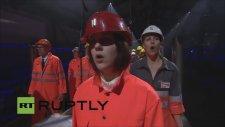 Dünyanın En Uzun Tüneli Gotthard Base'in Satanist Ayinle Açılışı