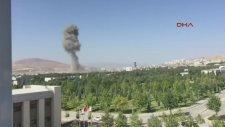 Elazığdaki Bombalı Saldırı Kameraya Böyle Yansıdı