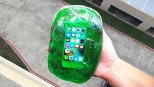 iPhone SE'yi 30 Metre Düşmekten Jöle Koruyabilir mi?