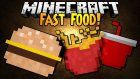 MINECRAFT FAST FOOD MODU