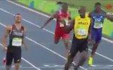 200 Metre Yarışını Gülerek Bitiren Usain Bolt ve Andre De Grasse