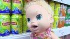 Baby Alive Maya Bebek Şok Market Alışverişi