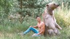 Dost Canlı Ayısı Stepan ile Fotoğraf Çekimine Katılan Çılgın Türk