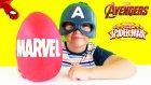 Marvel Dev Sürpriz Yumurta Açma Oyun Hamuru -  Oyuncak Abi