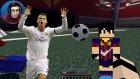 Minecraft'da Futbolcu Olmak