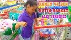 Vlog - Annem Ve Benim Kısa Market Alışveriş Rutinimiz