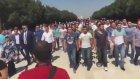 Askeri Okul Öğrencileri Anıtkabir'e Yürüdü