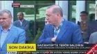 Erdoğan Gaziantep Saldırısını Anlatırken Bilal Erdoğan Gülüyor