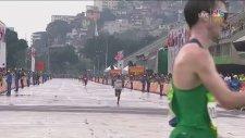 Rio 2016'da Son Anda Fiyakayı Toparlayan Yarışçı