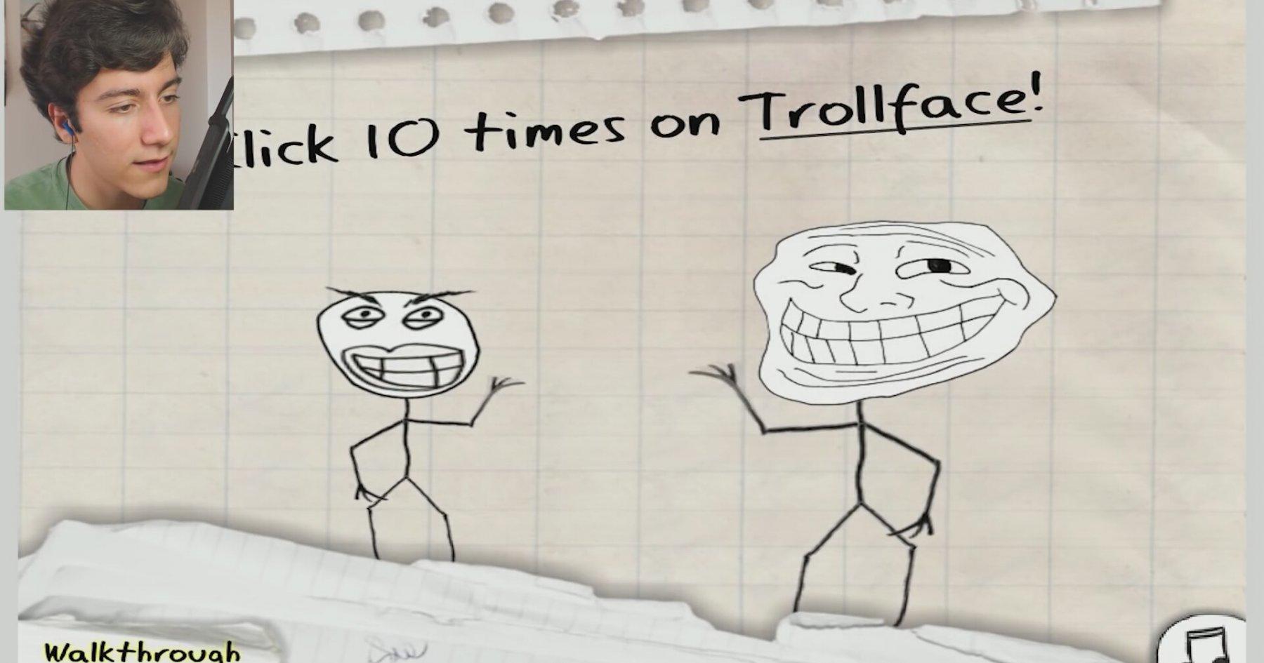 TROL ANAN!! - Trollface Quest #1 | İzlesene.com