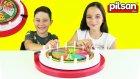Pilsan Bilgi Çarkı Oyunu - Çarkıfelek Yarışması Oynuyoruz | Oyuncak Abi