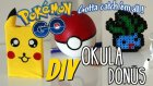Okula Dönüş/ Pokemon / Kendin Yap/ Dıy Back To School Supplies