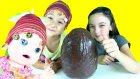 Baby Alive Maya Çikolata Kaplı DEV Sürpriz Yumurta Açıyor