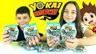 Yo-Kai Watch Sürpriz Oyuncak Paketleri Açma - Eeire Challenge