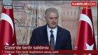 Başbakan Yıldırım'dan Teröre Atatük'ün Sözüyle Yanıt: Ya İstiklal Ya Ölüm