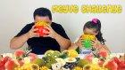 Meyve Challenge En Güzel Kavun Tabak Kimde ? | Fruit Challenge!