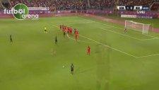 Pinto'nun Midtjylland'a attığı enfes frikik golü