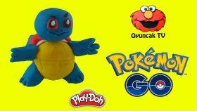 Play-Doh Oyun Hamuru Squirtle ile Yapımı - Pokemon Go