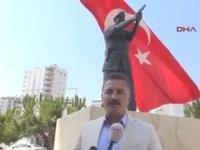 Şehit Astsubay Ömer Halisdemir'in Heykeli