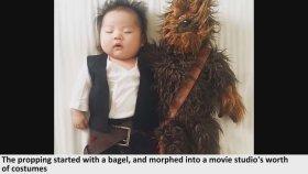 Uyurken Annesi Tarafından Farklı Karakterlere Sokulan 4 Aylık Bebek