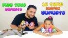 Play Toys Marka 10 Tane Büyük Sürpriz Yumurta Challenge Ve Ponçik