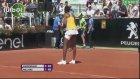 Tenis maçında şoke eden an