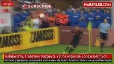 Galatasaray, Tiote'den Vazgeçti, Yerine Nigel de Jong'u Getiriyor