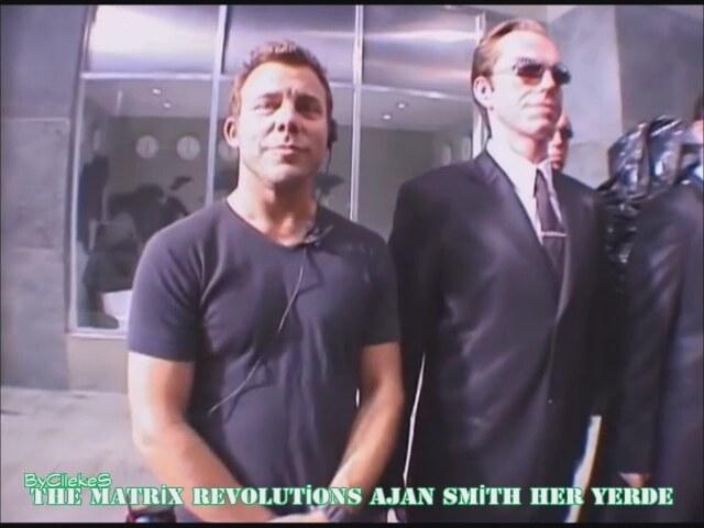 Ajan Smith Her Yerde - The Matrix Revolutions Kamera Arkası